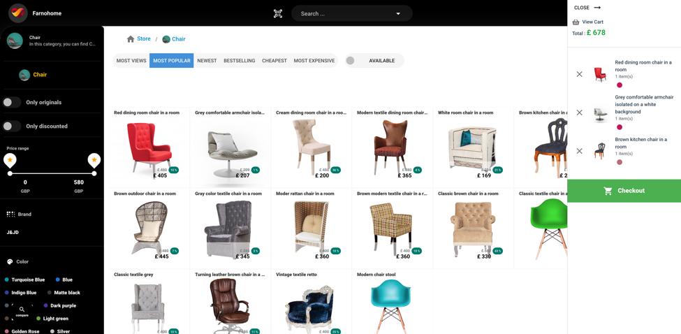 Make Shopping Website online