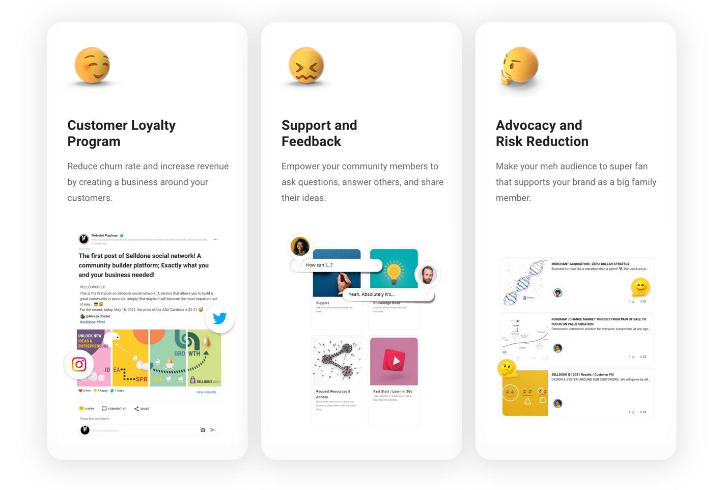 Community platform benefits
