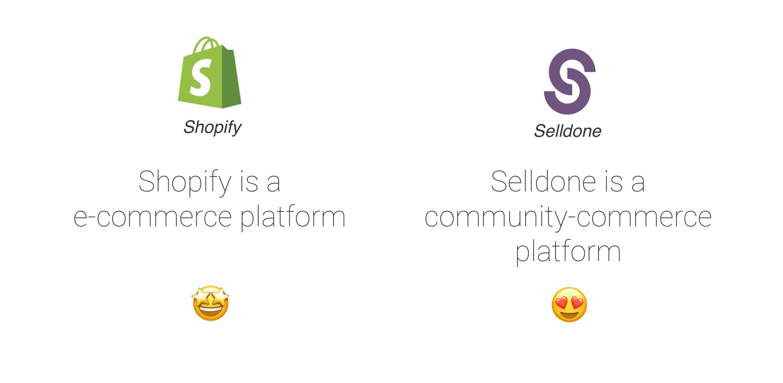 Community-commerce platforms.