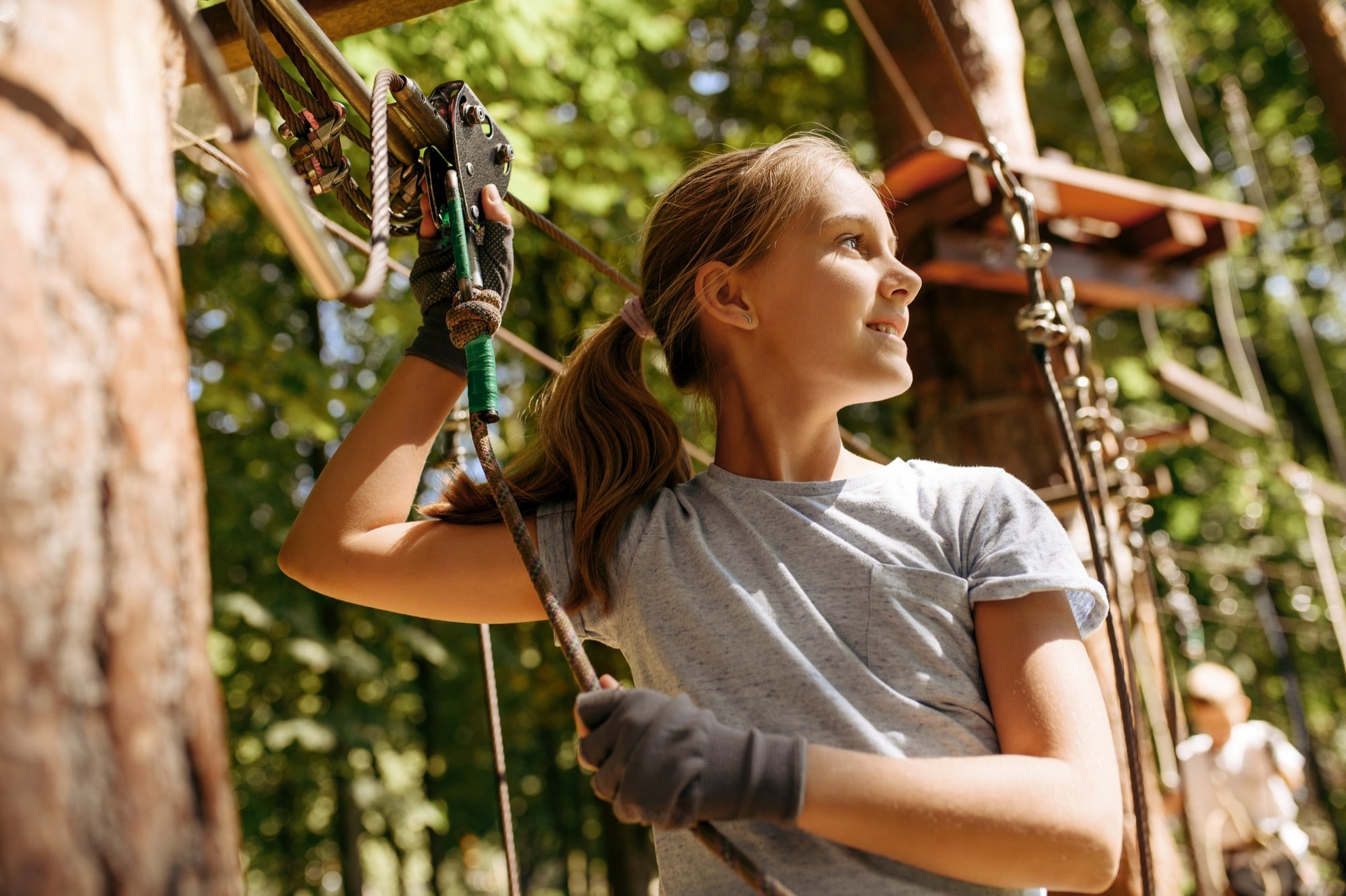 As a professional climber, I could offer training courses and try to
