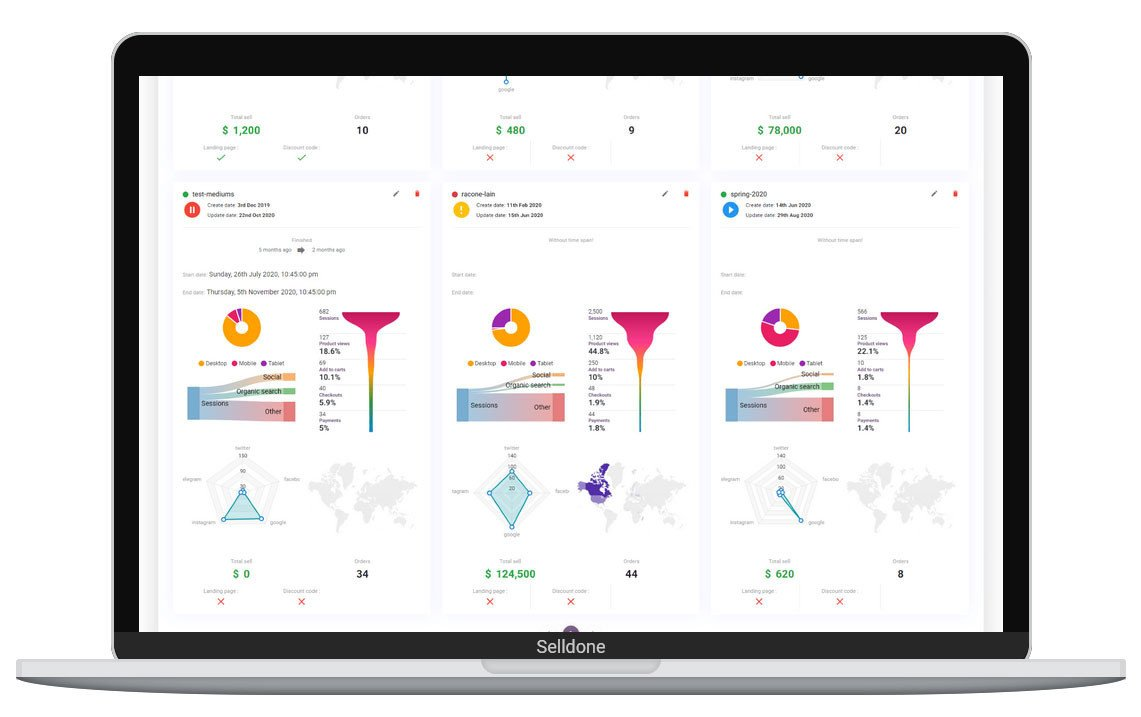 """Drive campaigns from one hub.<br><span style=""""font-weight: normal;"""">Tools every marketer needs.</span><br>"""